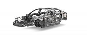 Aluminium Jaguar Chassis