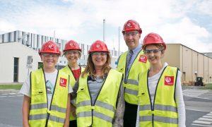Alu D&T Challenge winner Leon visits Hydro Aluminium in Germany